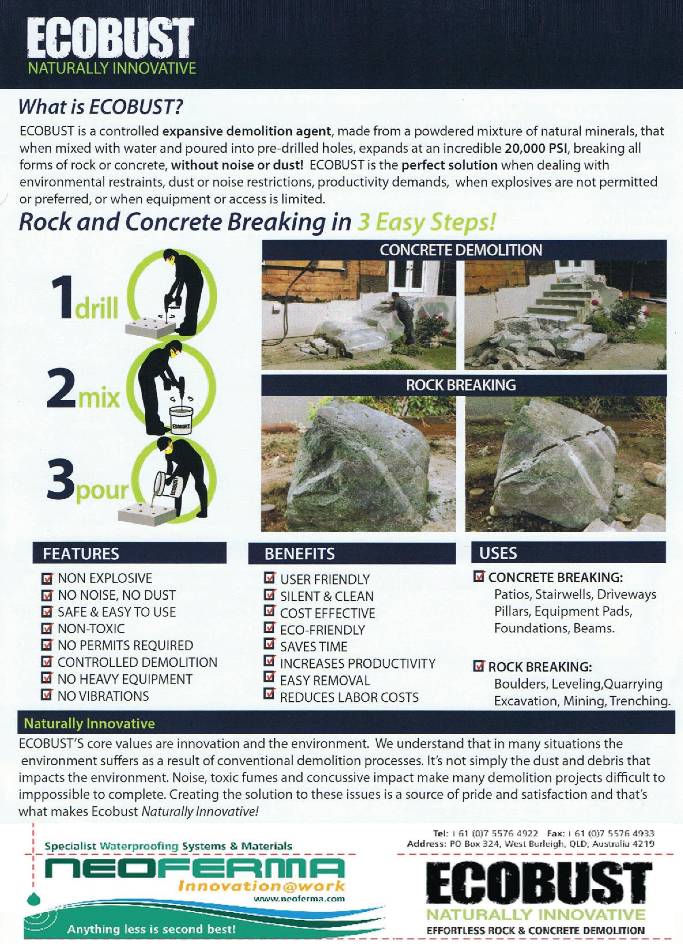 Ecobust Sales Leaflet