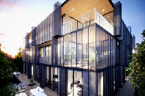 Luxury Exterior Balcony Suites Melbourne from Axiom Group