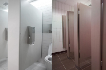 High-Quality Washroom Cubicles Melbourne by Flush Partitions