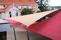 Shade Sails for Protected Outdoor Living from Nolan Group