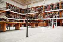 Abrasion Resistant Clear Panels for the State Library from Allplastics