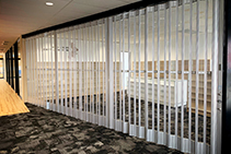 Aluminium Folding Doors for Office Partitioning from ATDC