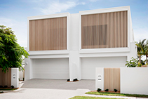 Striking Architectural Timber-look Battens for Homes by DECO