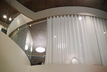 Curved Curtain Tracks by Silent Gliss from Blinds by Peter Meyer