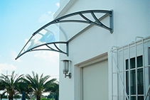 Door & Window Canopies Available from Bunnings by Altamonte