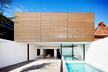 Pre-finished Timber Panels for Inside & Out by Screenwood