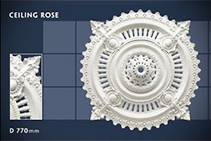 770mm Decorative Ceiling Roses from CHAD Group