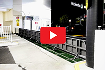 Automatic Recessed Flood Barriers from Flooding Solutions