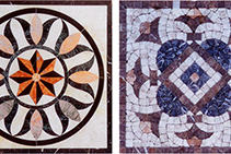 Indoor Mosaic Tiles from Eigen Stones