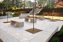 Landscaping for Royal North Shore Hospital by AYZ Landscaping