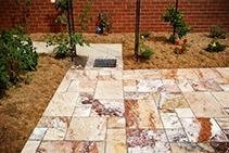 Lava External Travertine Tiles from DecoR Stone