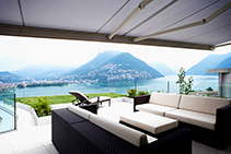Folding Arm Outdoor Awnings - Markilux from Rolletna
