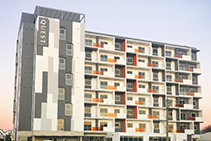 Roof Waterproofing for Quest Apartments by Rhino Linings
