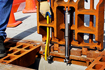 Hinged Trench Assemblies for Ergonomic Drainage from EJ