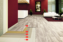Install LVT Planks Over Existing Ceramic Tiles with MAPEI