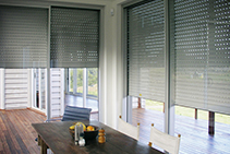 Custom Roller Shutters for Architects by Blockout