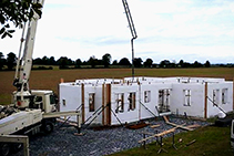 ICF Concrete Pumping Service from Insulbrick ICF