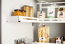 Pull-out Space Saving Storage Solutions from Nover