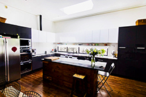 Custom Kitchen Roof Windows by Atlite Skylights