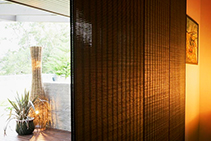 Stylish Moving Panel Blinds from Blinds by Peter Meyer