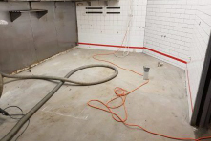 BUILDING NEWS Commercial Kitchen Floor with Concrete Surface Coatings