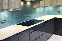 INTERIORS New Arctic Breeze Splashback Colour from Reflections