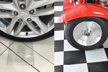 BUILDING NEWS Polycarbonate Pads for Car Showroom Floors from Allplastics