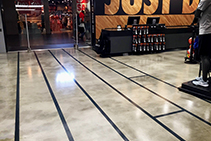 Concrete Floor Coating for Nike by Dulux Protective Coatings