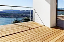 Silvertop Ash Decking Timber from Hazelwood & Hill