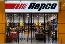 Compact Security Gate for Repco Penrith from Trellis Door Co