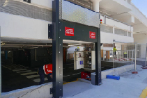 High End Retail Drop Down Flood Barriers from Flooding Solutions