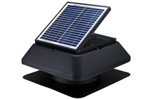 Whirl3 Solar Powered Roof Fan from Ventilation Supplies