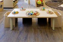 Wood Grain Modular Luxury Vinyl Plank from Sherwood Enterprises