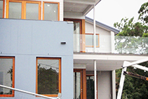 Stylish Double-Glazed Glass Doors from Wilkins Windows