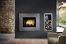 Modern Wood Fireplaces Sydney by Chazelles Fireplaces