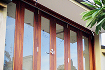 Contemporary Bi-Fold Doors Sydney from Wilkins Windows