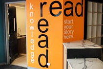 Internal Library Signage from Architectural Signs Sydney