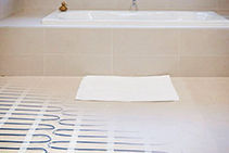 Underfloor Heating - Electric Mat Heating from dPP Hydronic Heating