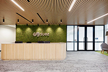 Eco-Friendly Panels for Sustainable Office Fit Outs from SUPAWOOD