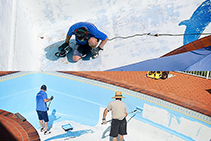 Epoxy Pool Paint - Epotec NT from Hitchins Technologies