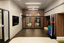 Acoustic Moving Walls for Luxury Gymnasium by Bildspec