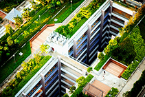 XPS Foam to Insulate Inverted Green Roofs from Plastek