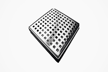 Small Square Tile Insert Grates from Vincent Buda & Co