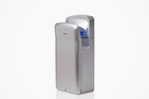 Verde Maxi Hand Dryers in Silver from Verde Solutions