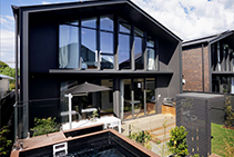 Textured Cladding in Blackish from Hazelwood & Hill