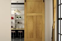 Space Saving Interior Door Design from Cowdroy
