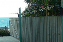 Stainless Steel Clotheslines for Coastal Areas from Versaline