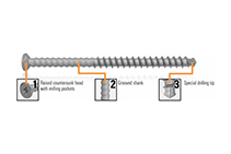AnchorMark Decking Screws Available at Hazelwood & Hill