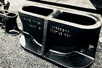 Cast Ductile Iron Mooring Eyes for Airports by EJ
