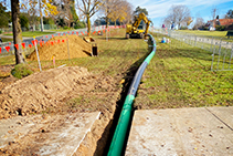 Geothermal Water Heating Pipe Systems from Aquatherm